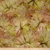 Bali Batiks Desert Valley Clouds Mauve/Kiwi