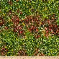 Bali Batiks Meadow Song Pebbles Emerald