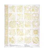 "Contempo  Tangle Time Tangle Time 44""Panel Gold Metallic"