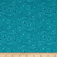 Contempo  Winter Games Blizzard Teal