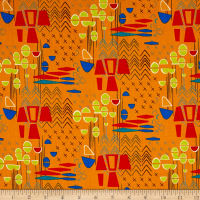 Contempo  Modern Marks Modern Marks Orange