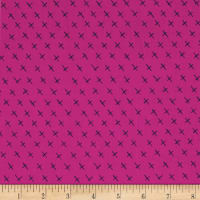 Contempo  Modern Marks Crossmarks Pink