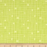 Contempo  Modern Marks Crosshatch Light Lime