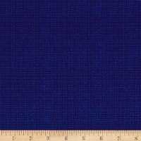 Contempo  Modern Marks Color Weave Cobalt Blue