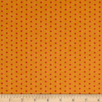 Contempo  Dot Crazy Small Dot Orange
