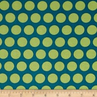 Contempo  Dot Crazy Large Dot Teal