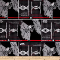 Star Wars The Last Jedi TIE Fighter Black