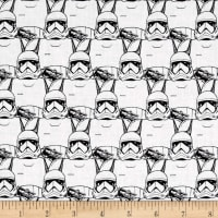 Star Wars The Last Jedi Stormtrooper Crowd White