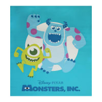 "Disney Pixar Monsters, Inc. 35"" Panel Blue"