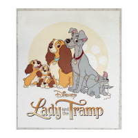 "Disney Lady & the Tramp 35"" Panel Multi"