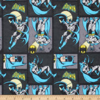 DC COMICS ll Batman Flannel Carbon