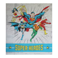 "DC COMICS ll Super Heroes 44""Panel White"