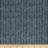 Kanvas Into the Woods II Herringbone Pine Gray