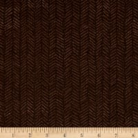 Kanvas Into the Woods II Herringbone Pine Dark Brown