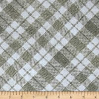 Kanvas Into the Woods II Flurry Plaid Taupe