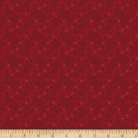 Benartex Homestead: Colonial Lace Red
