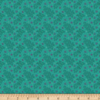 Benartex Homestead: Country Lace Teal