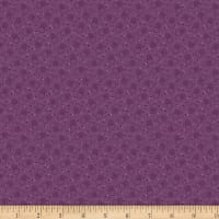 Benartex Homestead: Country Bubble Purple
