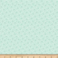 Benartex Homestead: Country Bubble Turquoise