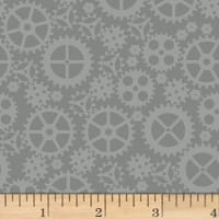 Matthew's Mini Monsters Tonal Gears Gray