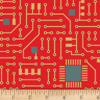 Matthew's Mini Monsters Circuit Board Red