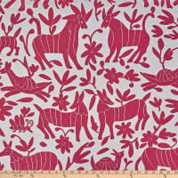 AMERICAN MADE Artistry Fiesta Otomi Inspired Jacquard Pink