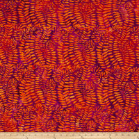 Kaffe Fassett Artisan Batik Fronds Grape