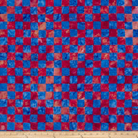 Kaffe Fassett Artisan Batik Chess Red