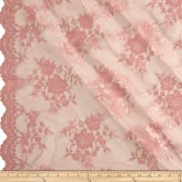 Chantilly Lace Double Border Mauve