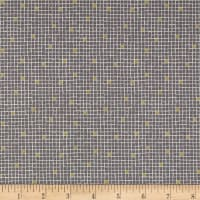 Lewis & Irene Lindos Little Tiles Grey/Gold Metallic