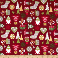 Lewis & Irene Hygge Christmas Red