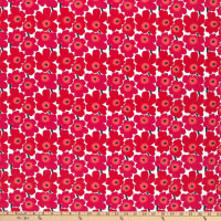 Marimekko Mini Unikko Cotton Red