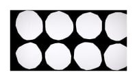 Marimekko Kivet Cotton Broadcloth Black/White