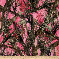 True Timber Camo Micro Fleece - MC2 Pink
