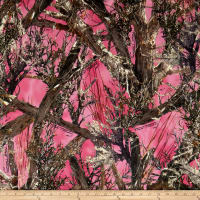 True Timber Camo Pongee-MC2 Pink
