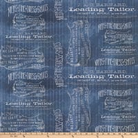 Tim Holtz Dapper Tailored Blue