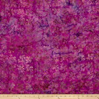 Andover A Splash of Color Batik Wreath Pink Sherbet
