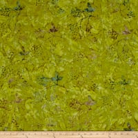 Andover A Splash of Color Batik Twig Mint
