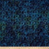 Andover A Splash of Color Batik Honeycomb Tropical Rain