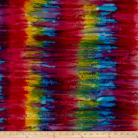 Andover A Splash of Color Batik Tinted Violet