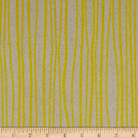 Alison Glass Diving Board Seagrass Sunny on Tailored Cloth Linen