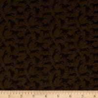 Thoroughbreds Silhouette Brown