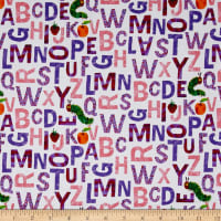 The Very Hungry Caterpillar - ABC's Alphabet Purple Pink