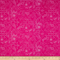 Alison Glass Sun Prints Overgrown Amaranth Pink