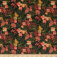Laura Ashley The Gosford Park Heather Garden Black