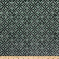 Laura Ashley The Gosford Park Mr. Jones Dark Green