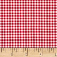 Mixology Gingham Crimson