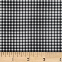 Mixology Gingham Black