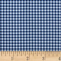 Mixology Gingham Indigo