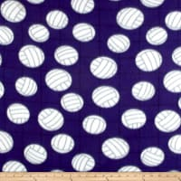 Polar Fleece Volleyball Purple